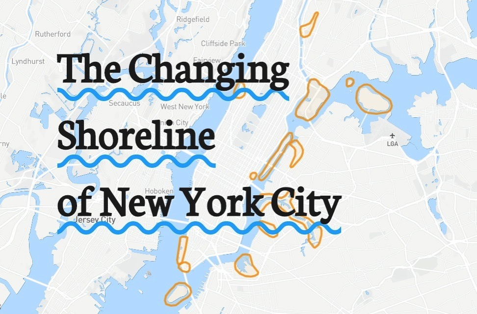 The changing shoreline of nyc 1