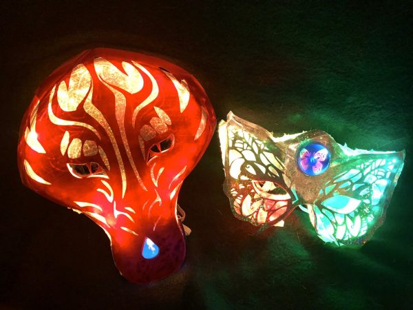 New Learn Guide Make A Glowing Mirror Mask