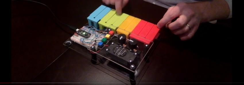 Pentasynth: A homebuilt pentatonic keyboard and synth