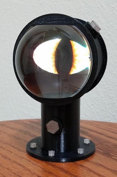 Eye in a sightglass adafruit v1