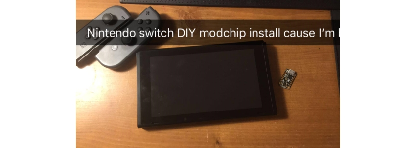 "Switch Trinket M0 ""Modchip"" Install"