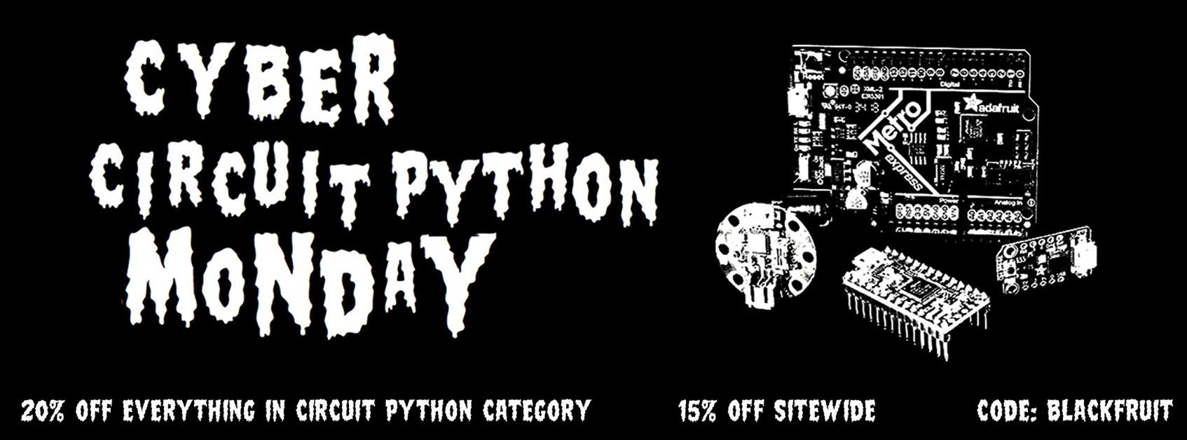 07 Cyber Circuit Python MondayMetal Facebook banner 02D ORIG 2018 11