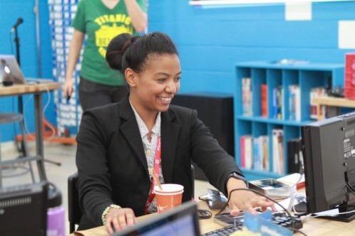Smiling CPD teacher 500x333
