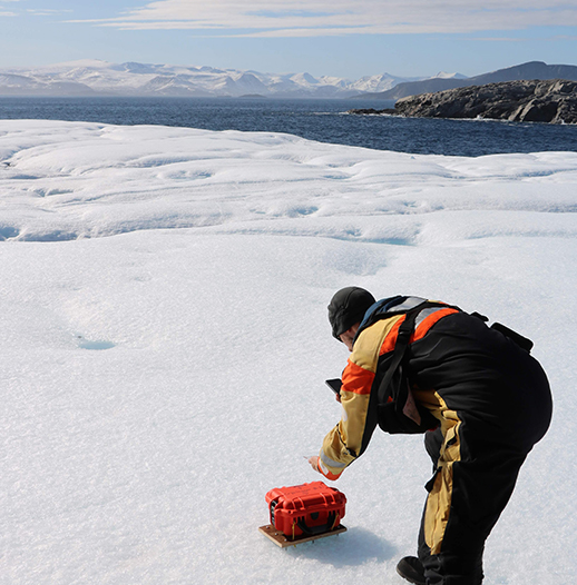 six Cryologgers were deployed as ice tracking beacons in the Canadian Arctic