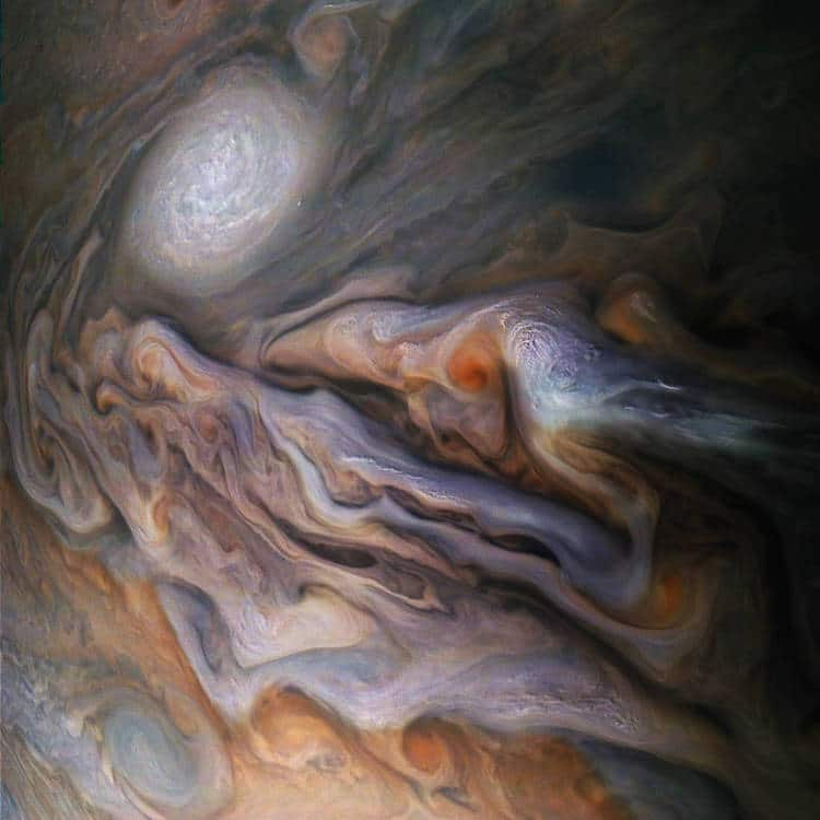 Jupiter clouds nasa