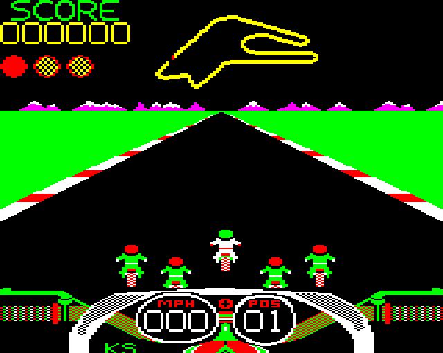 Crazee Rider ( BBC Micro )