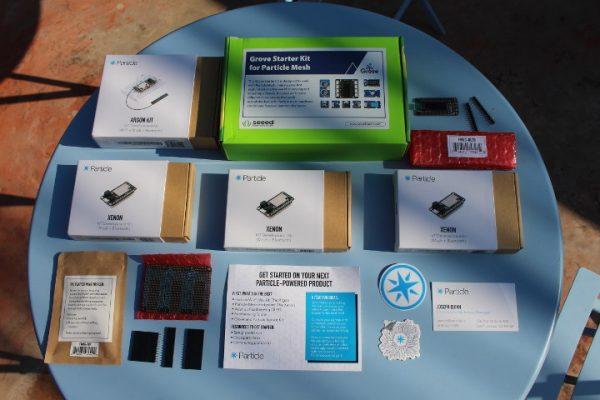 Particle Mesh IoT Development Kit Bundle Unboxing