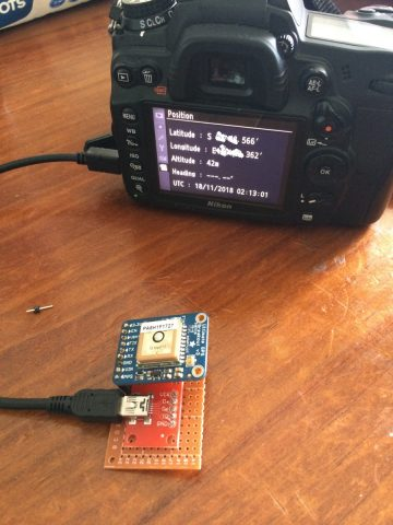 DIY GPS for Nikon D7000