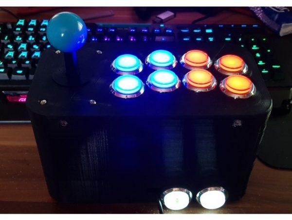 10 Button Joystick Arcade Controller #3DThursday #3DPrinting