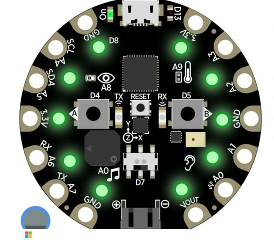Getting Adafruit Circuit Playground Express to respond to music