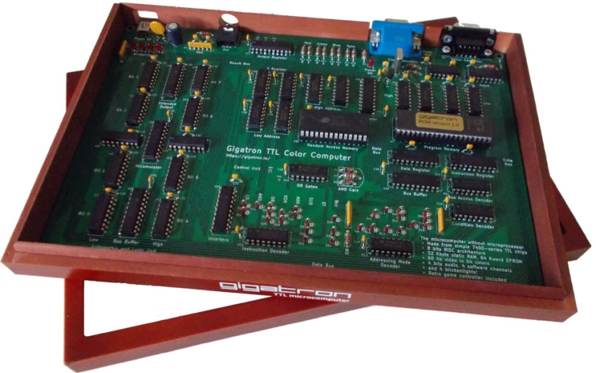 The Gigatron – a TTL microcomputer without a microprocessor #VintageComputing #8bit