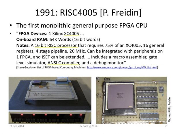 Philip Freidin designer of the first soft CPU in an FPGA, 1991