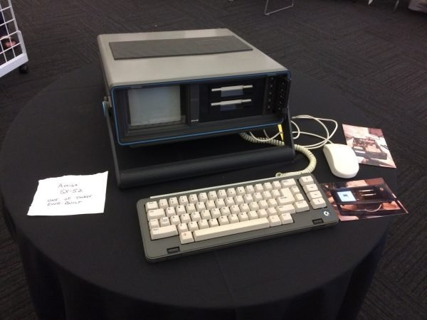 Amiga 500 in a SX-64 case, called SX-500