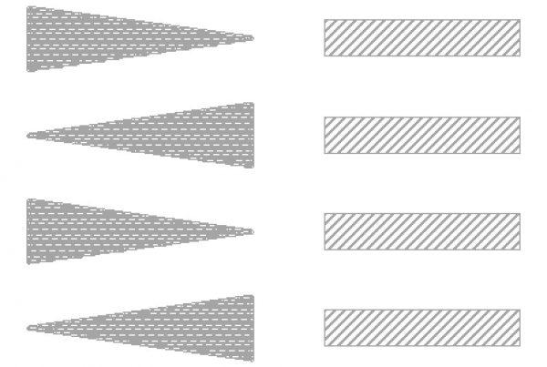 solder paste wedges