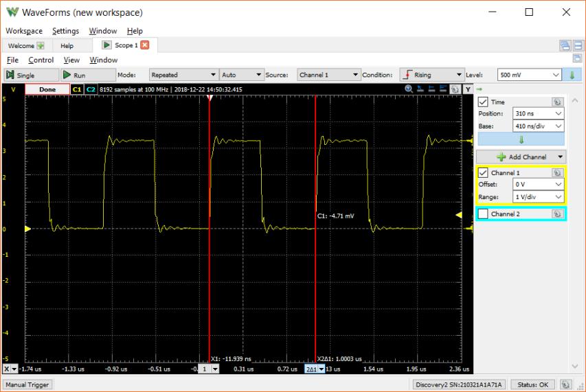 Arduino Zero (SAMD21) Raw PWM Using CMSIS