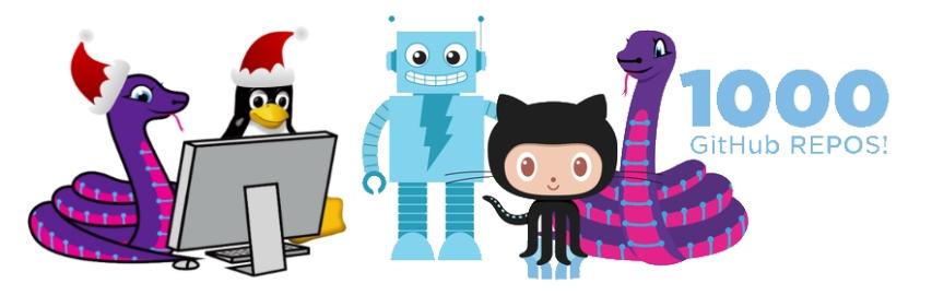 circuitpython newsletter holiday 2018 blinka github adabot tux Adafruit
