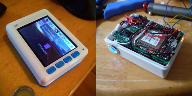 Raspberry pi smartphone project