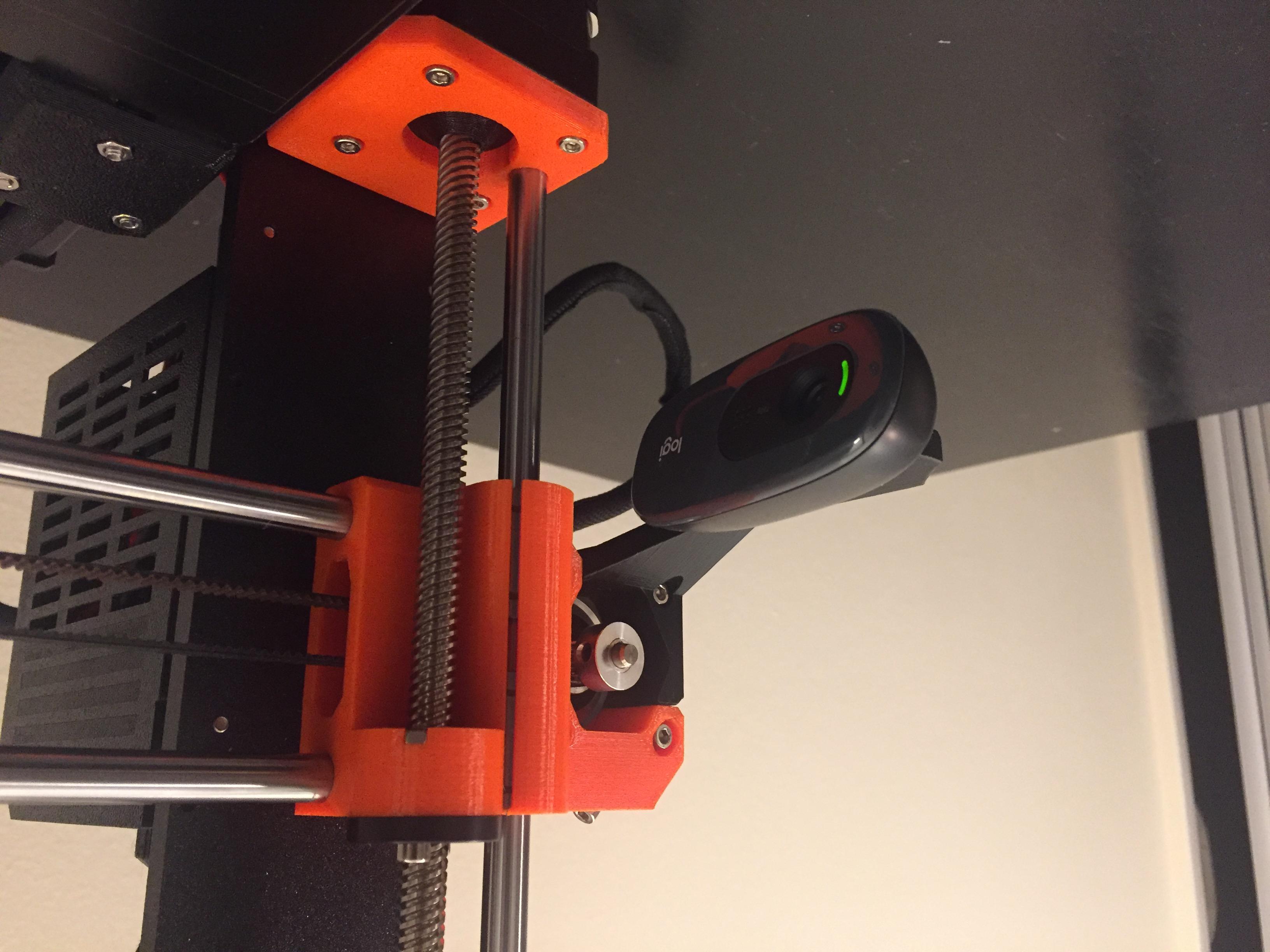 Logitech C270 Mount Prusa i3 Mk3 #3DThursday #3DPrinting