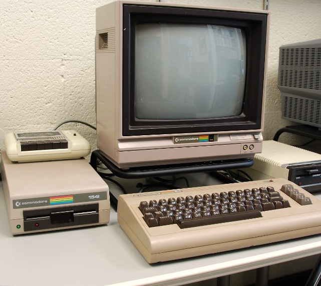 Commodore 64 was first revealed at the Consumer Electronics Show, in Las Vegas (1982)