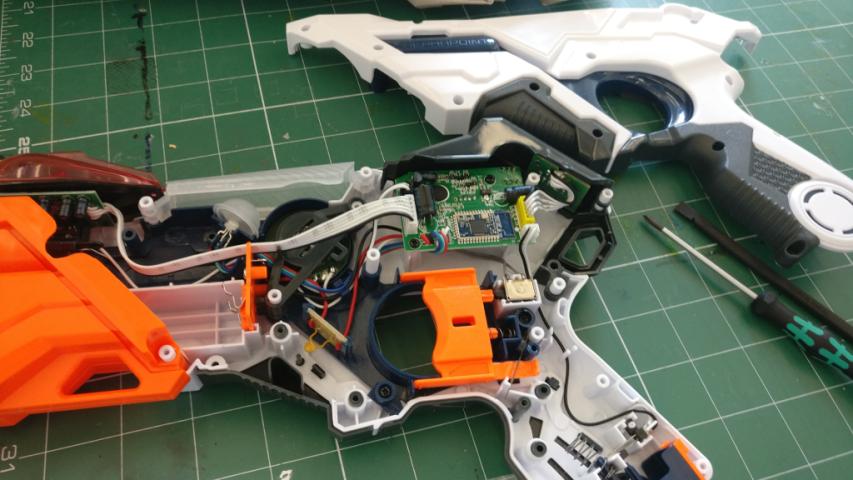 Decoding Nerf LaserOps