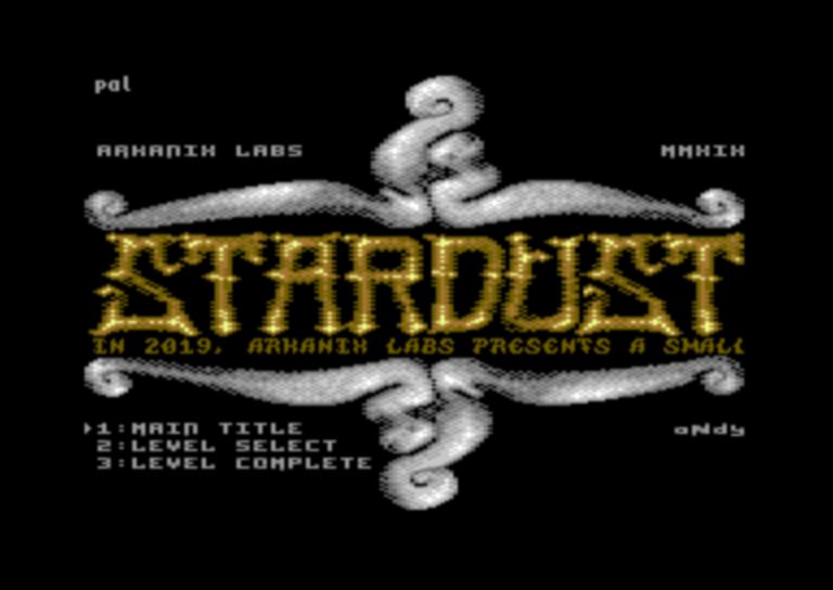 'Stardust Music', a small C64 music collection