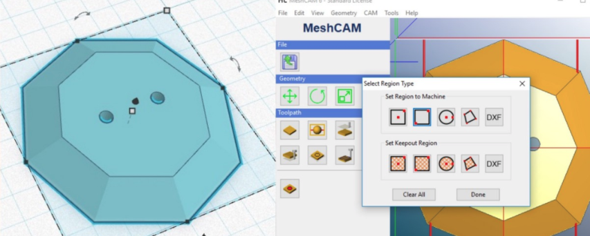 Shapeoko + EASEL Milling using Meshcam's 3D GCode @shapeoko