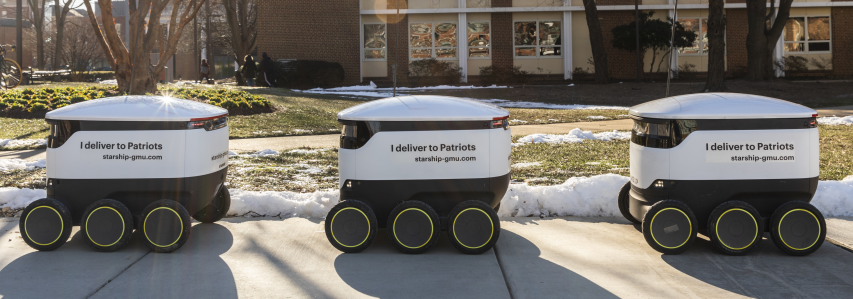There are robots on campus—here's what you need to know