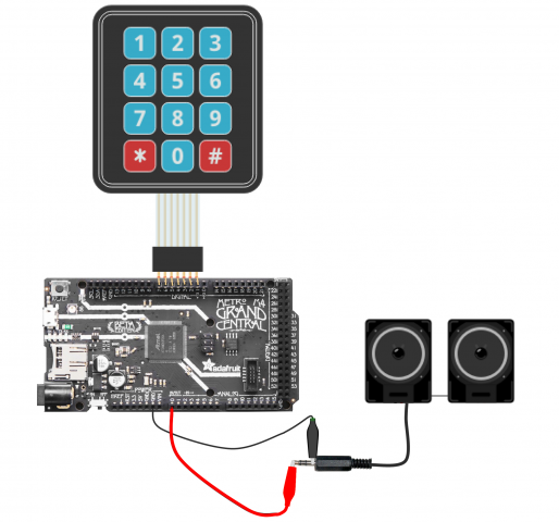 matrix keypad circuitpython