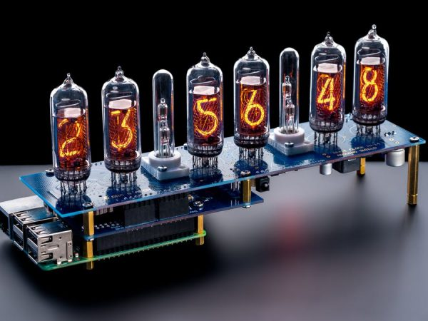Nixie Display or Clock IN-14 Raspberry Pi HAT NCS314 #piday