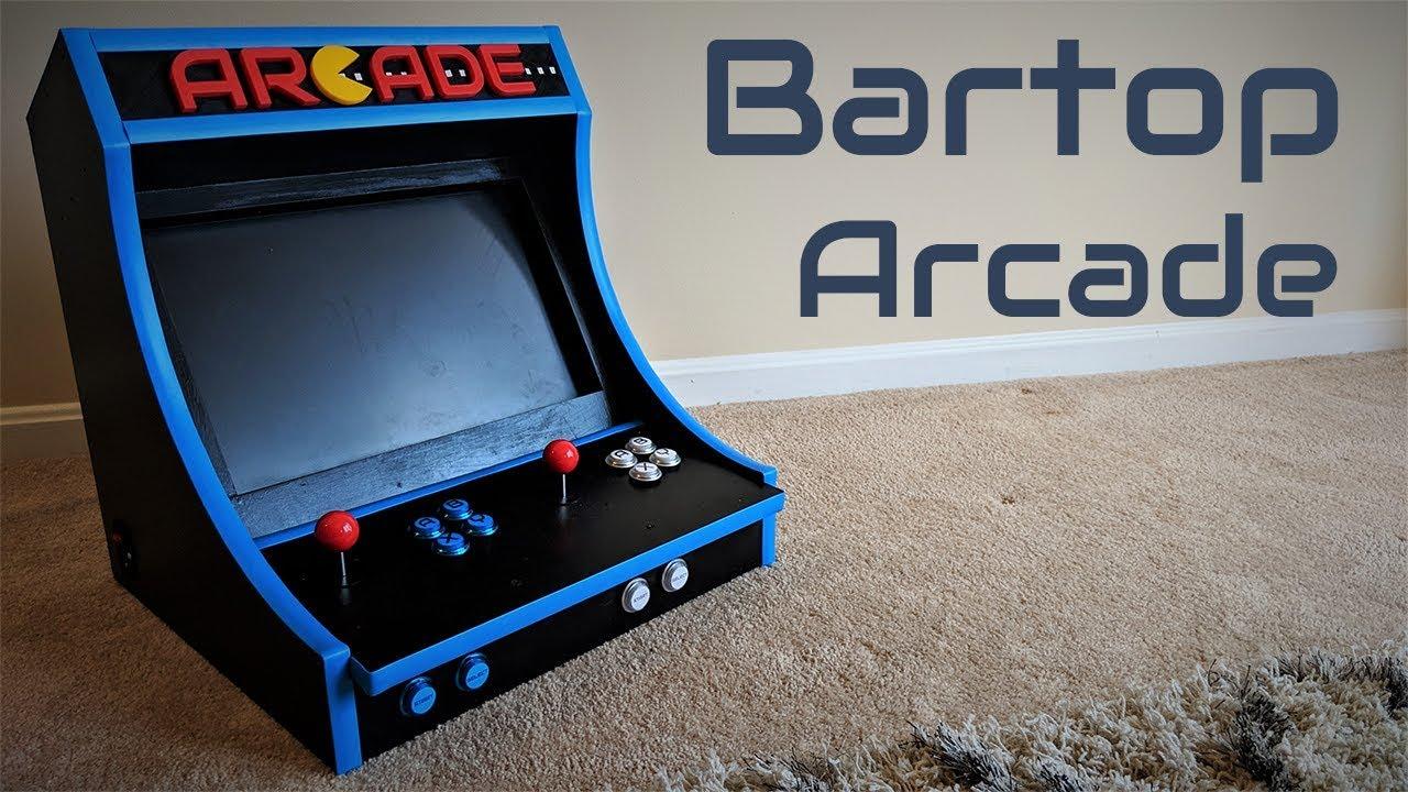 How To Build A Bartop Arcade Machine With A Raspberry Pi