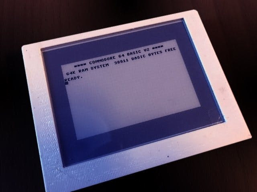 Emulating a Commodore 64 with an ESP8266 and a crisp ePaper display