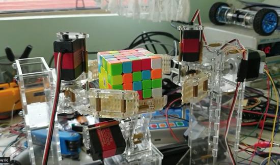 Adafruit LED Matrix Backpack Test and Prep! @Adafruit Made in NYC 6