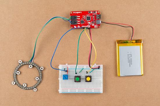 Adafruit LED Matrix Backpack Test and Prep! @Adafruit Made