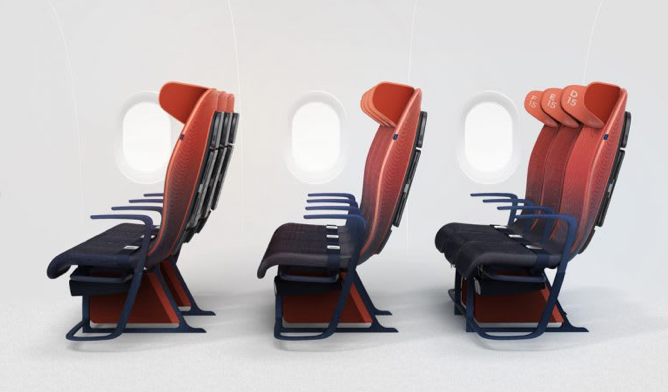 Could smart fabric make your airplane seat more comfortable