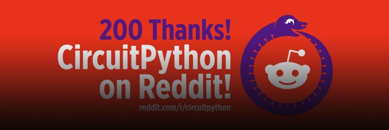 Adafruit circuitpython reddit 200 blog