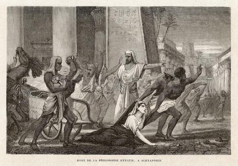 Mort de la philosophe Hypatie 1