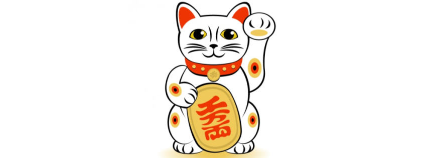 Lucky Cat art, design by freepik - www.freepik.com, free to use credited to freepik