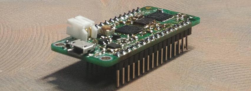 MINHF4, an STM32F4 Arduino Compatible in an Adafruit Feather