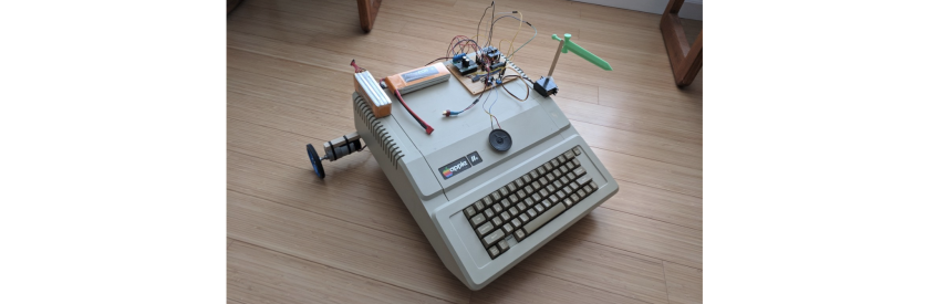 Apple IIe Robot