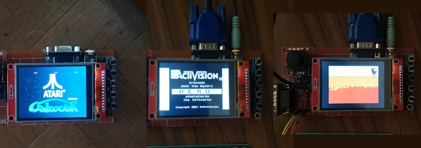 Console Emulators Collection with the Teensy 3 6 and display