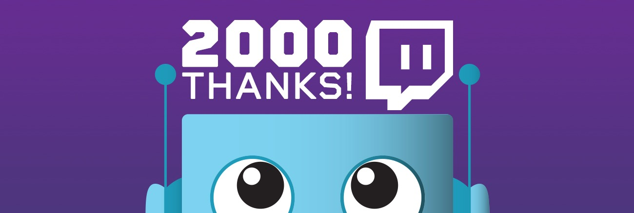 Adafruit 2000 Thanks Twitch Hero