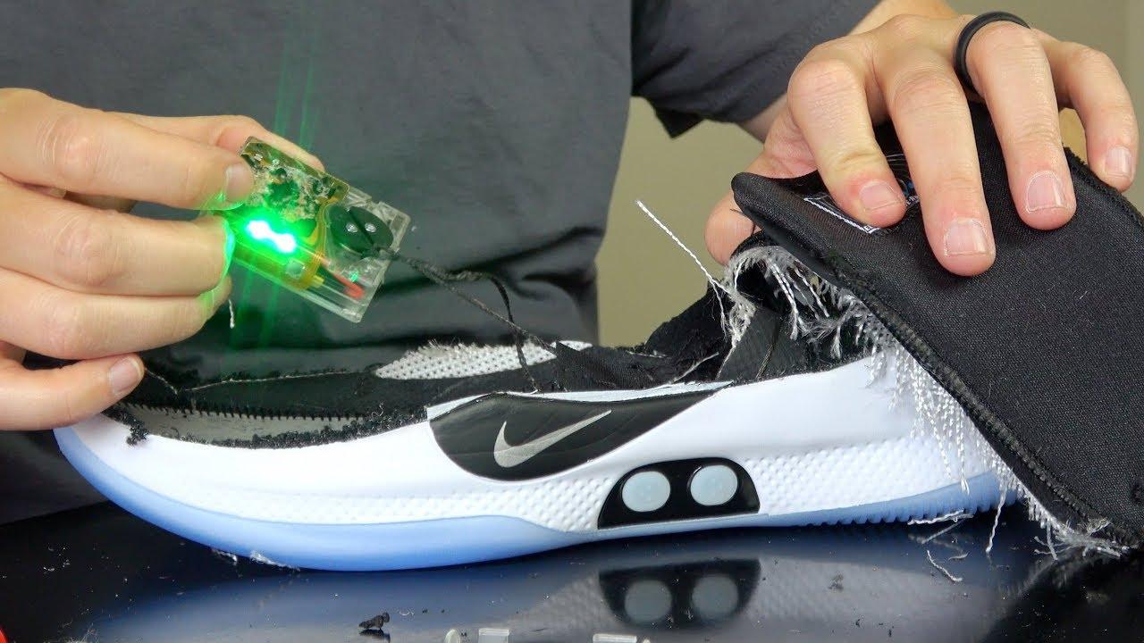 Nike Adapt BB Shoes Teardown