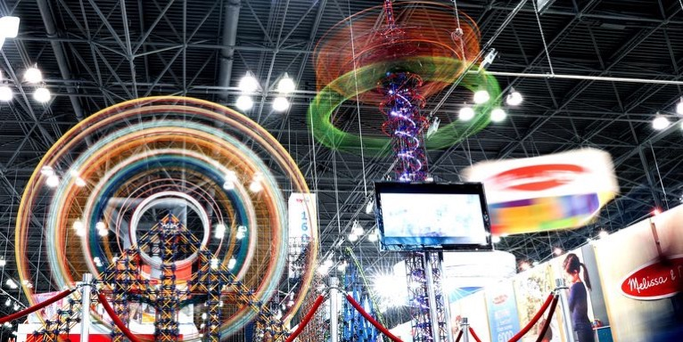 Toys are displayed during the 116th new york toy fair at news photo 1125298637 1550441712