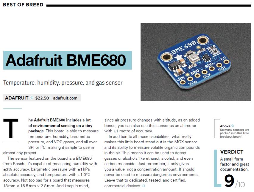 Adafruit BME680