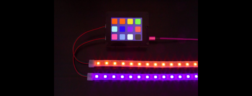 Adafruit PyPortal NeoPixel Color Picker