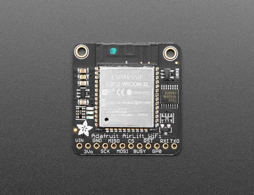 NEW PRODUCT – Adafruit AirLift – ESP32 WiFi Co-Processor Breakout