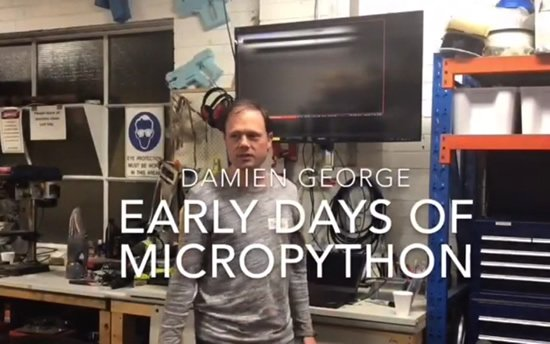 The Early Days of MicroPython