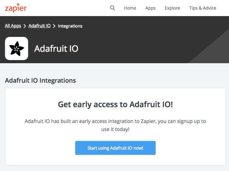 Adafruit IO Changelog