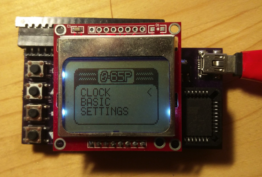 Build a Wearable Watch Using a 6502 8 Bit Microprocessor