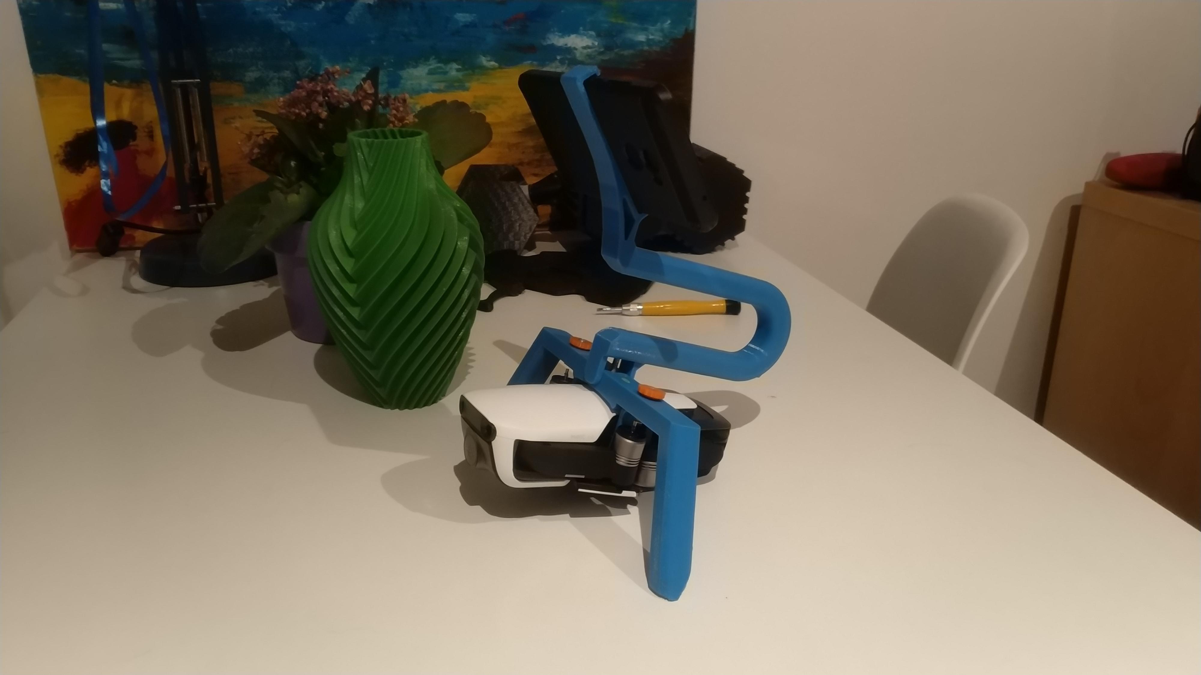 Dji Mavic Air hand grip (Katana like) #3DThursday